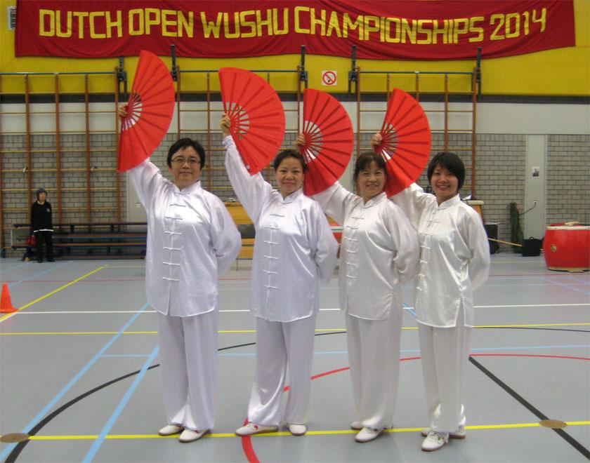 于学萍-向玉萍-宿亚珍高慧2014年6月28日-参加荷兰武术比赛